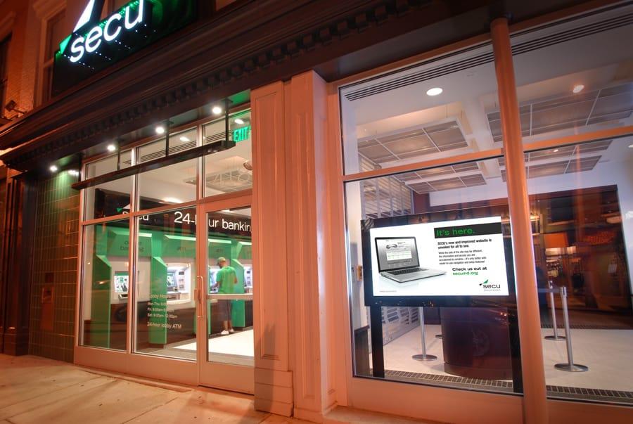 branch lobby exterior