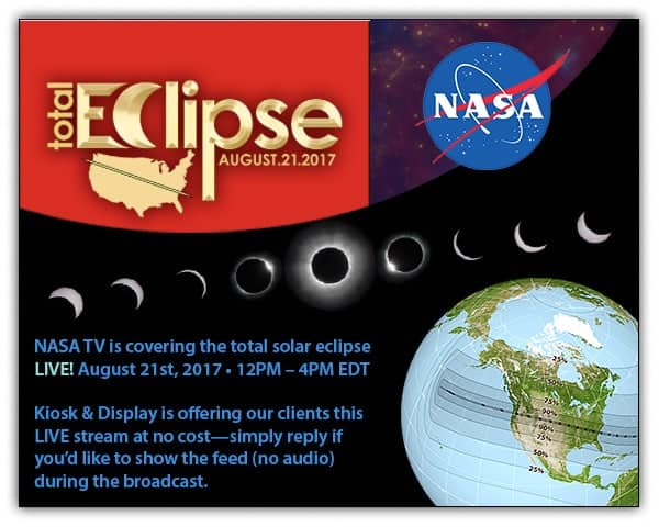 K&D Eclipse Coverage via Nasa