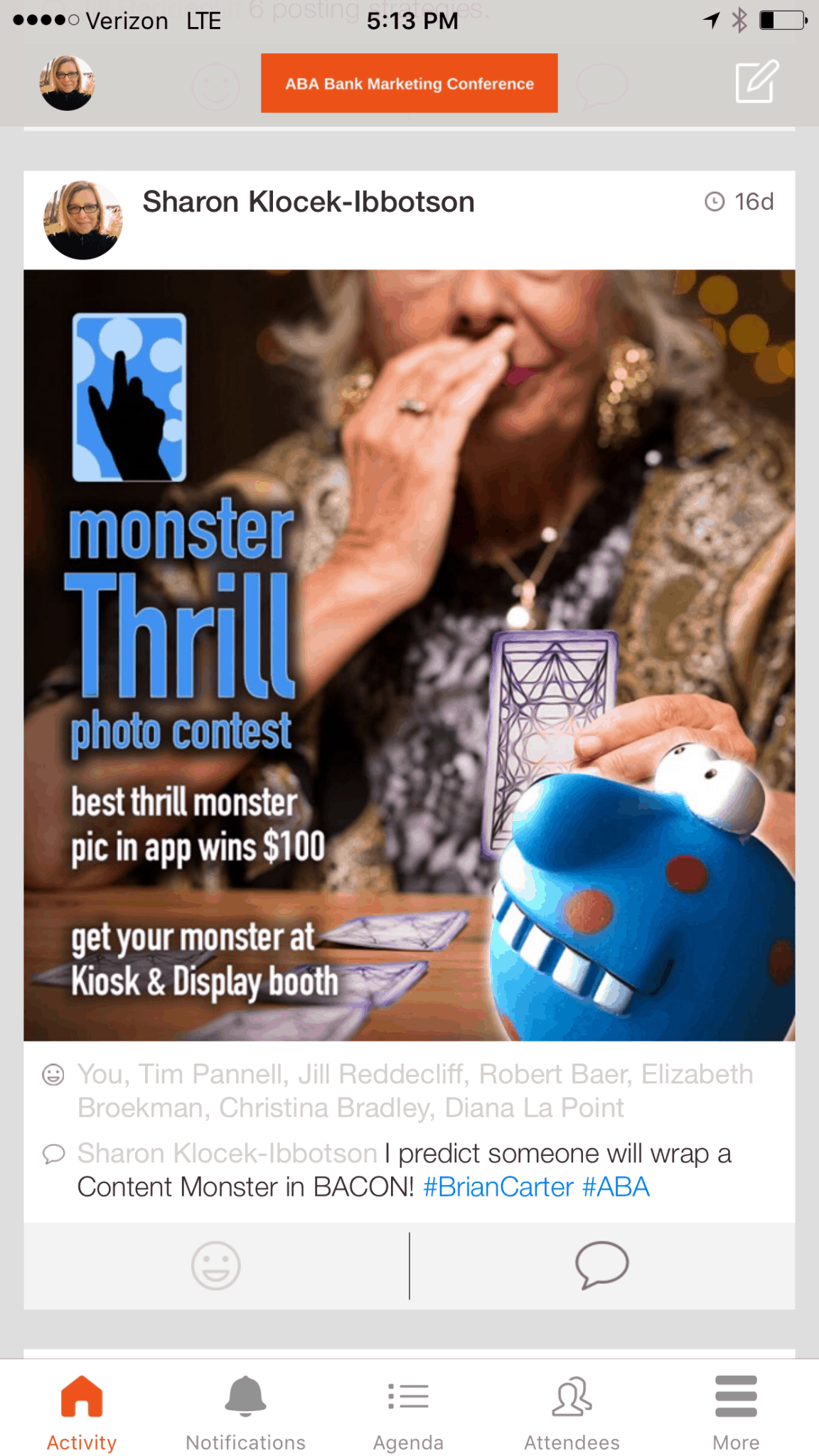 Monster Thrill Photo Contest