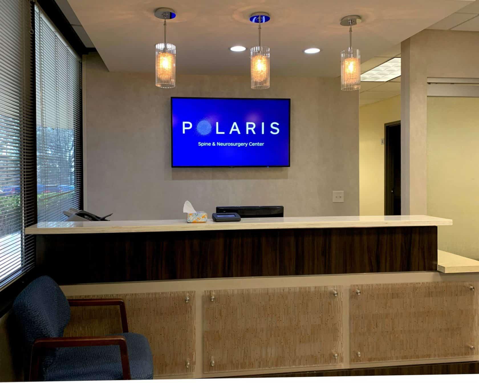Polaris Spine & Neurosurgery Center patient waiting room