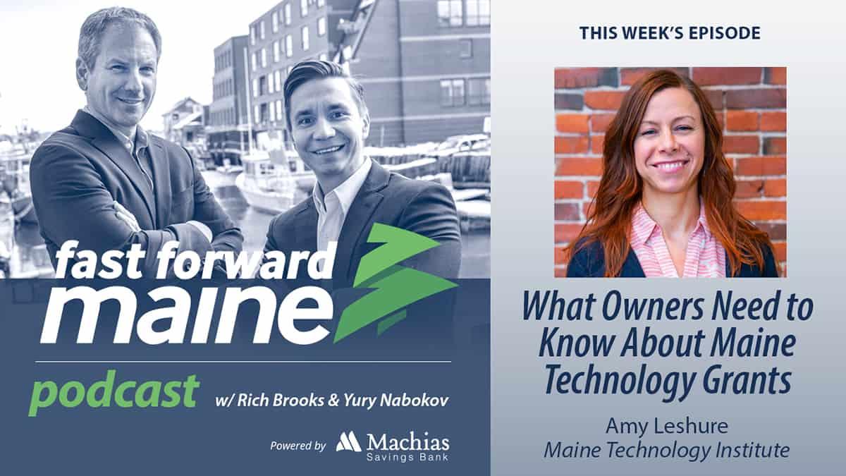 Machias Savings Bank Fast Forward Maine digital signage promotion